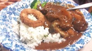 どみどん(ドミグラスソース丼)