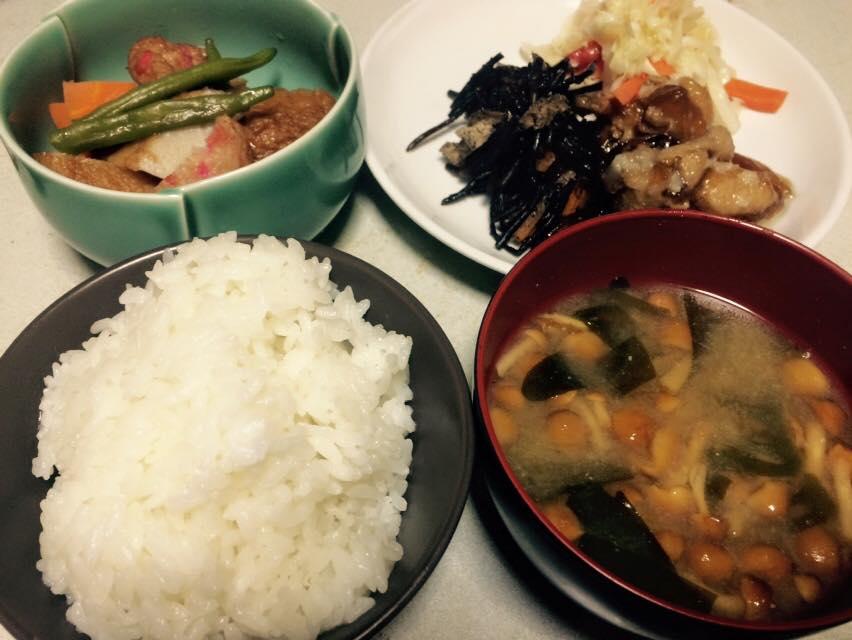 くまのレシピ 2015-08-05の夕食