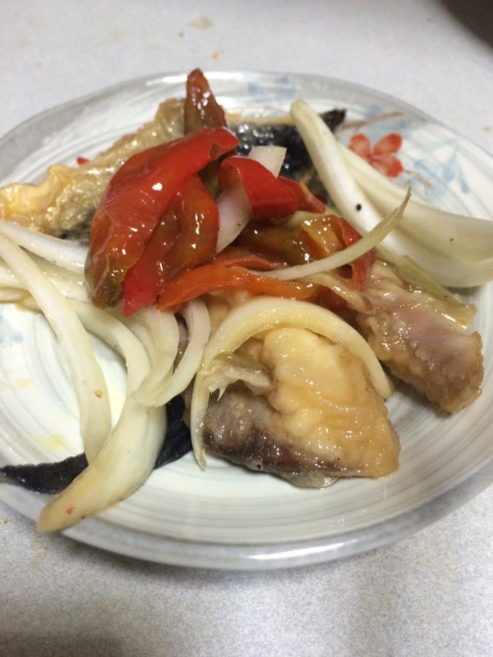 サバの南蛮漬け ー くまのレシピ