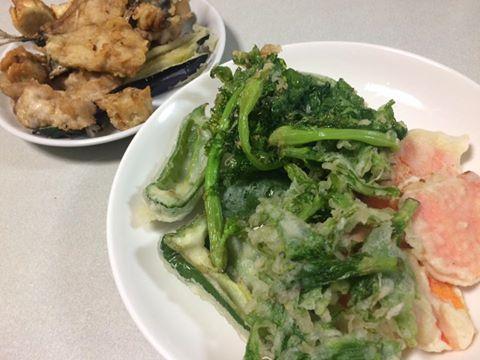 くまのレシピ 天ぷら