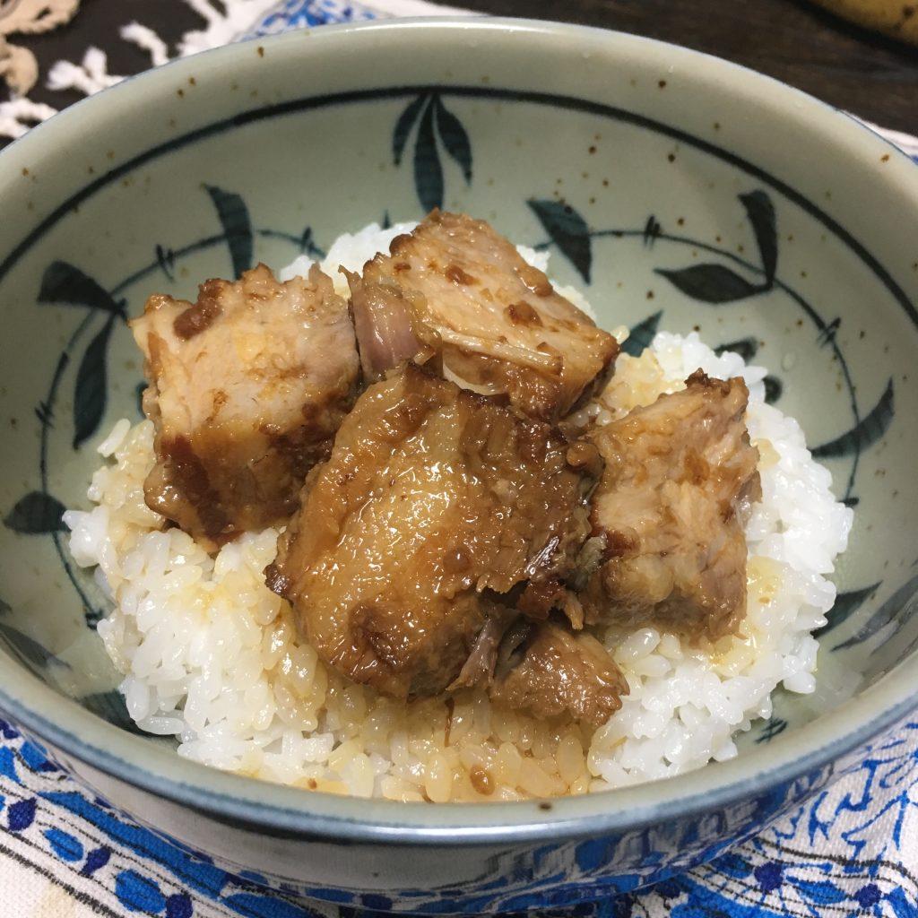 自家製煮豚丼